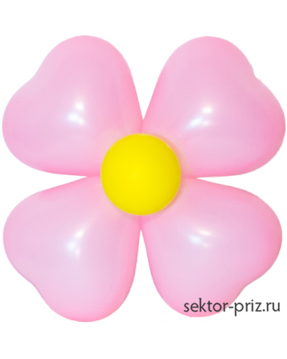 Фигура из шаров «Цветок на стену 2»