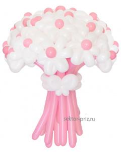 Букеты из воздушных шаров, «Грезы любви» — 23 цветка из шаров
