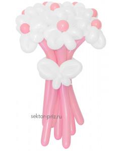 Букеты из воздушных шаров, «Грезы любви» — 9 цветов из шаров
