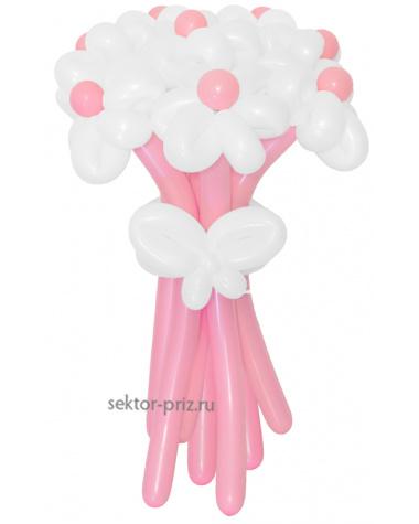 «Грезы любви» — 11 цветов из шаров