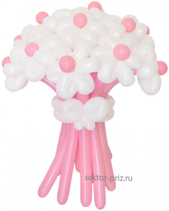 «Грезы любви» — 15 цветов из шаров