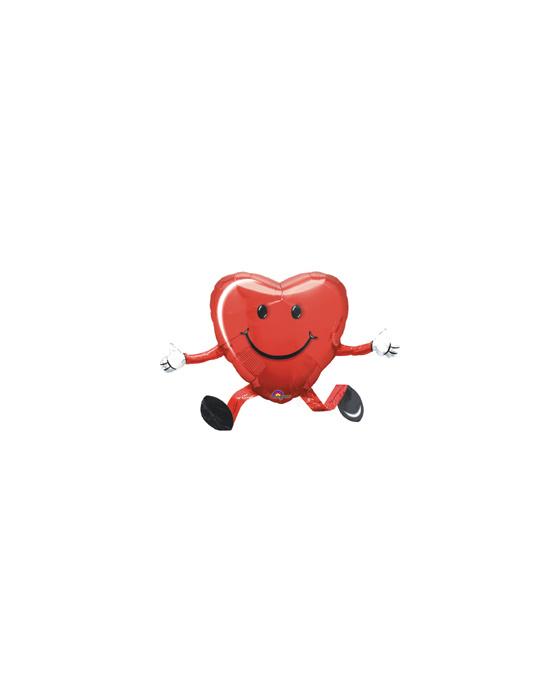 Ходячий шар (45 см) Сердце