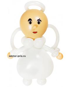Фигуры из воздушных шаров, Фигура из шаров «Ангелочек»