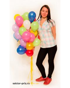 Воздушные шары с гелием, «Маленькие, 5 дюймов» - шары с гелием