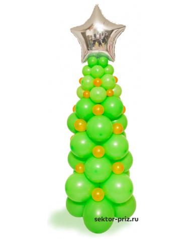 Фигура из шаров «Новогодняя елка»