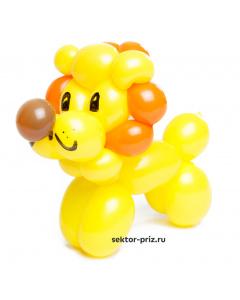 Фигура из шариков «Львёнок»