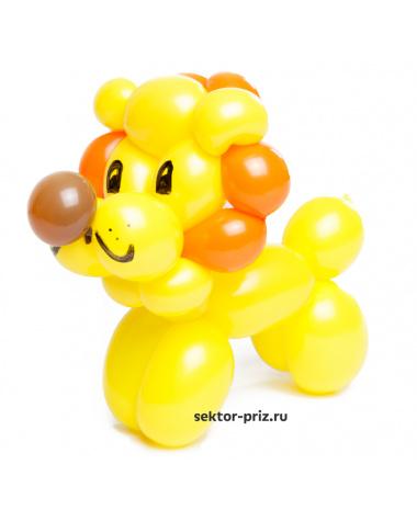 Фигура из шаров «Лвёнок»