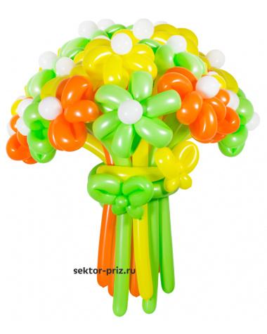 «Летний» — 23 цветов из шаров