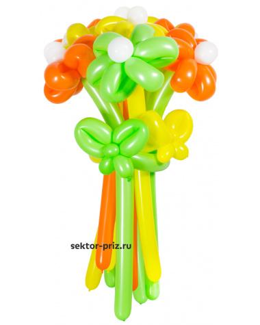 «Летний» — 11 цветов из шаров