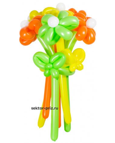«Летний» — 7 цветов из шаров