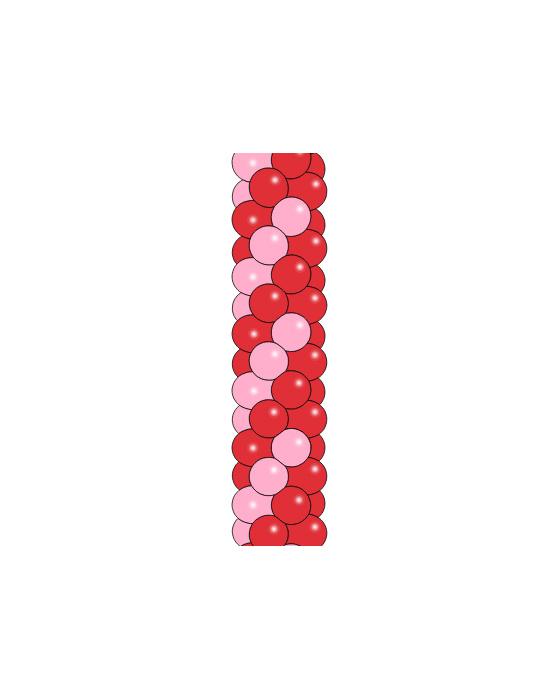 Гирлянда из шаров №4