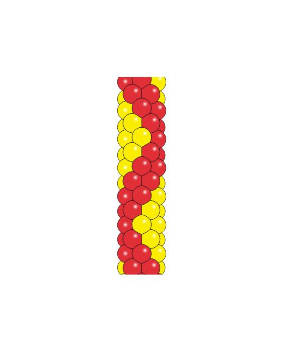 Гирлянда из шаров №13