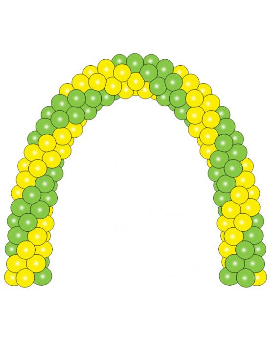 Арка из шаров №4