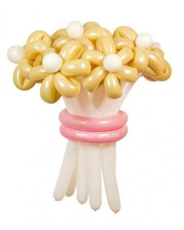 «Нежный» — 11 цветов из шаров