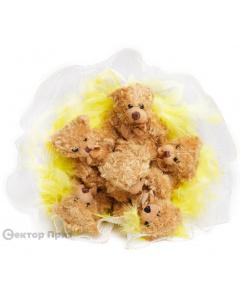 Букет из игрушек «Зоопарк»