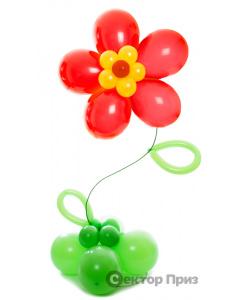 Стойка из шаров «Весенняя»