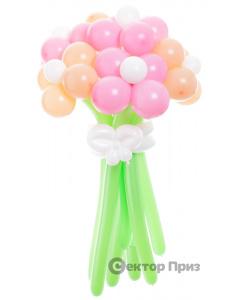 «Весенняя пора» — 7 цветов из шаров