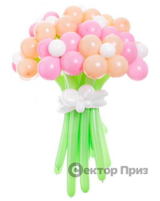 «Весенняя пора» — 15 цветов из шаров