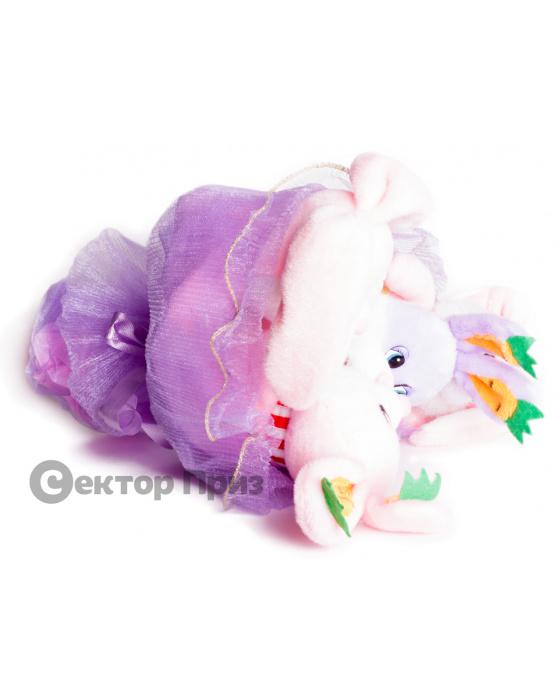 Букет из игрушек «Зайчата»