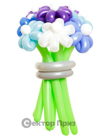 «Зимний» — 11 цветов из шаров