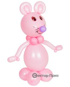 Фигура из шаров «Ребенок в люльке»