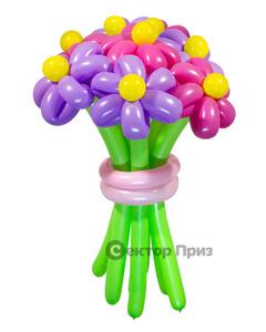 Букеты из воздушных шаров, «Забава» — 9 цветов из шаров