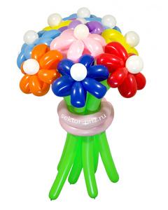 «Мега» — 11 цветов из шаров
