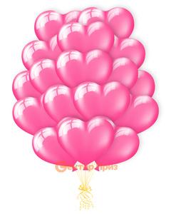 «Воздушный поцелуй» - шары с гелием