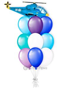 «Вертолетик» — шары с гелием. 13 шт.