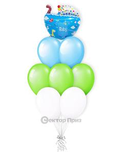 «Малыш» — шары с гелием. 12 шт.