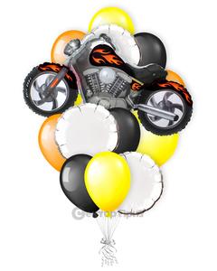 «Байкер» — шары с гелием. 22 шт.