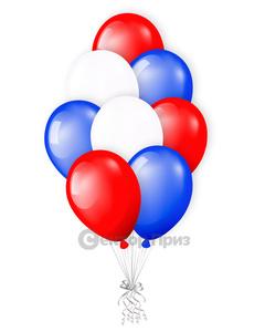 «Триколор» — шары с гелием