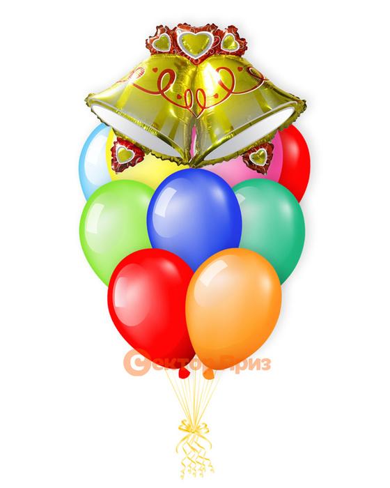 «Школьная пора» — шары с гелием. 16 шт.