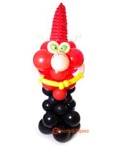 Фигура из шаров «Скорпион»