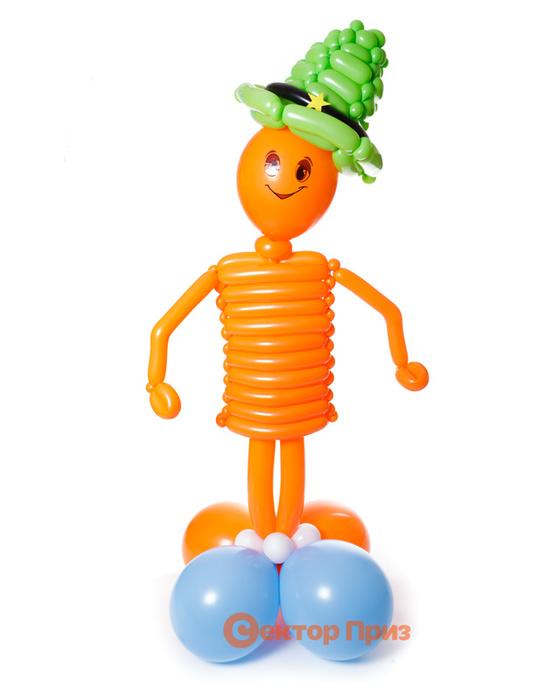 Фигура из шаров «Тут и там»