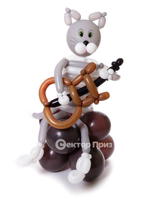 Фигура из шаров «Кот Матроскин»