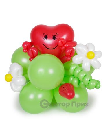 Фигура из шаров «Клубничка»