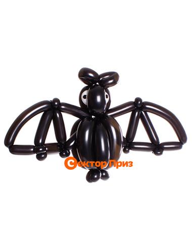 Фигура из шаров «Летучая мышь»