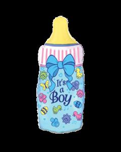 Бутылочка на рождение мальчика