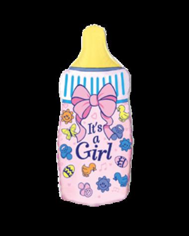 Бутылочка на рождение девочки