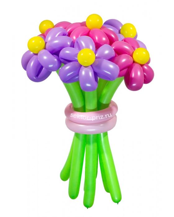 «Забава» — 7 цветов из шаров