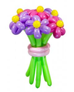 Букеты из воздушных шаров, «Забава» — 7 цветов из шаров