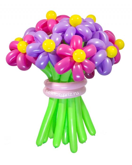 «Забава» — 15 цветов из шаров