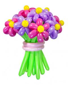 Букеты из воздушных шаров, «Забава» — 13 цветов из шаров