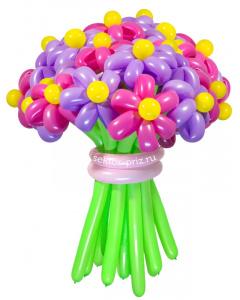 Букеты из воздушных шаров, «Забава» — 23 цветка из шаров