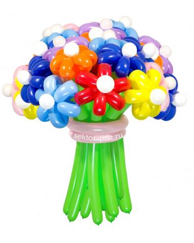 «Мега» — 23 цветка из шаров