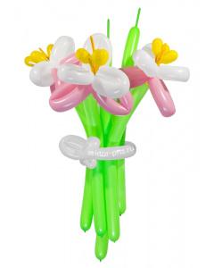 «Обыкновенное чудо» — 3 цветка из шаров