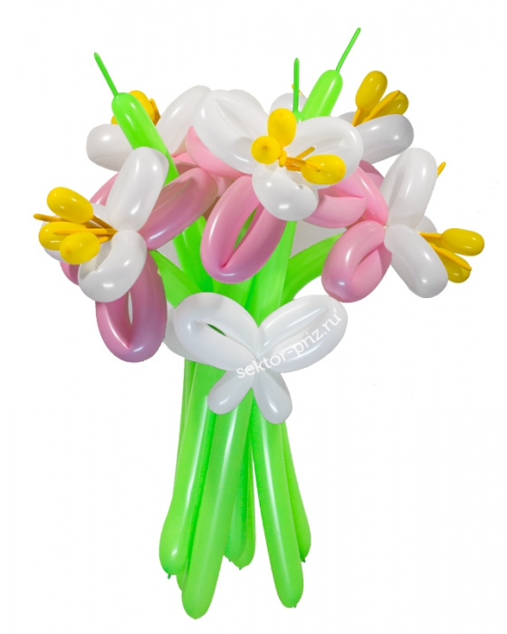 «Обыкновенное чудо» — 5 цветов из шаров