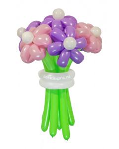 Букеты из воздушных шаров, «Комильфо» — 7 цветов из шаров