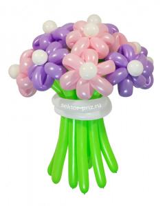 Букеты из воздушных шаров, «Комильфо» — 13 цветов из шаров